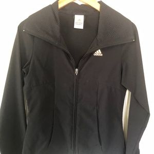 Women's Adidas Black Zip up Jacket